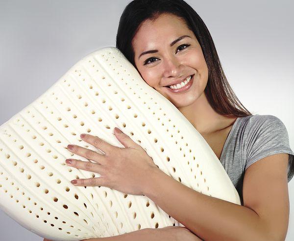 Латексная подушка с рельефной поверхностью - полезное приобретение для вашей спальни