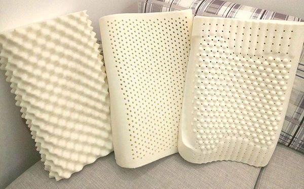 Рельефная поверхность подушек с массажным эффектом