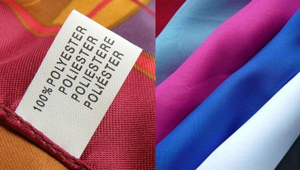 Ткань полиэстер используется для пошива одежды и различного текстиля