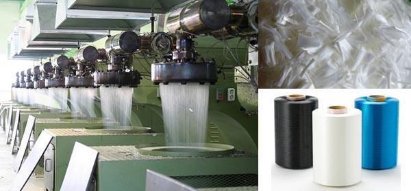 Производство полиэстерового волокна