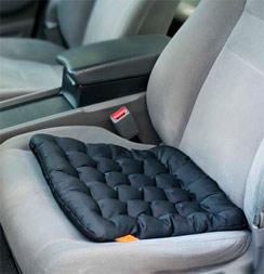 Подушка с гречневой лузгой для водителя