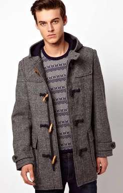 Мужское пальто из драпа