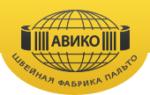 Логотип Швейная компания АВИКО