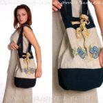 Льняные сумки женские