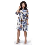 Платья для «пышных» женщин