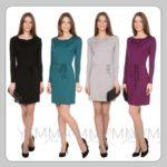 Трикотажные платья для беременных женщин