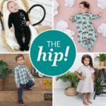 Логотип Бренд детской одежды The hip!